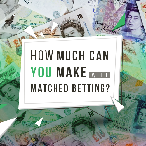 How much can you make with Matched Betting