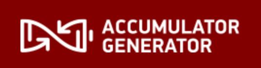 Accumualtor Generator Banner