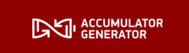 Accumulator Generator Banner