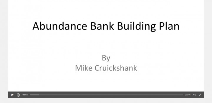 Advantage Play Secrets — Screenshot — Abundance Bank Building Plan Video