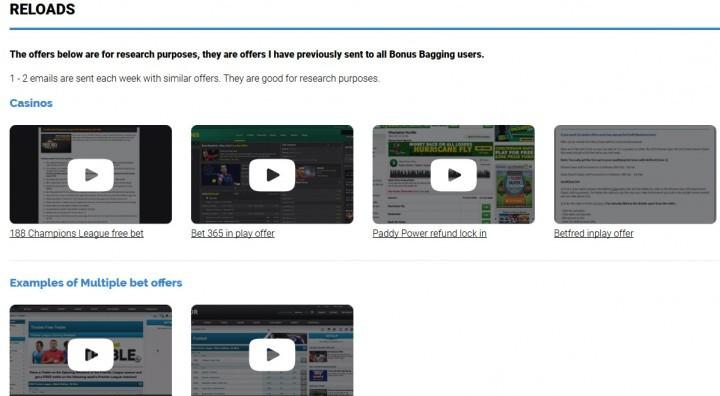 Bonus Bagging — Screenshot — Reloads