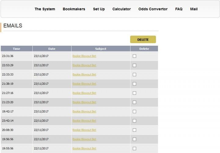 Bookie Blowout — Screenshot — Membership Site (2)