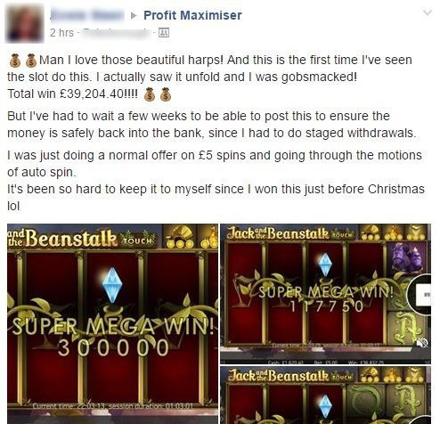 Profit Maximiser — Facebook Screenshot (1-2)
