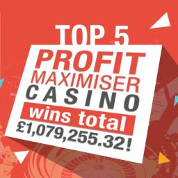 Profit Maximiser Casino Wins