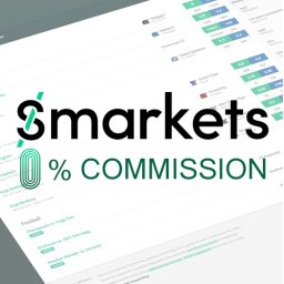 Smarkets 0% commission