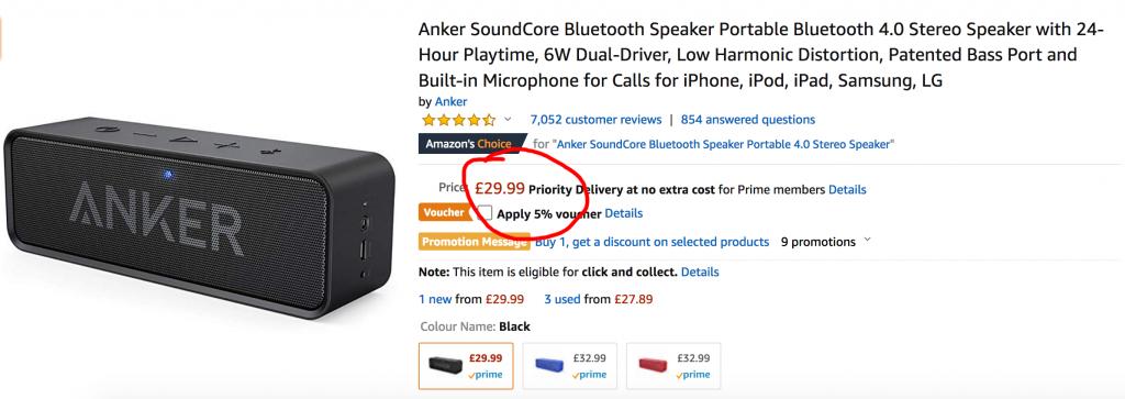 Amazon arbitrage