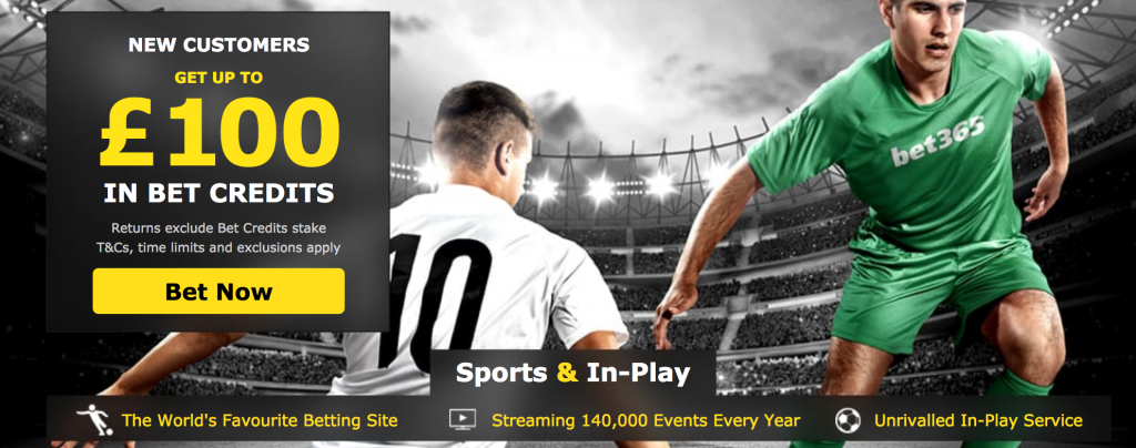 Bet365 new account offer