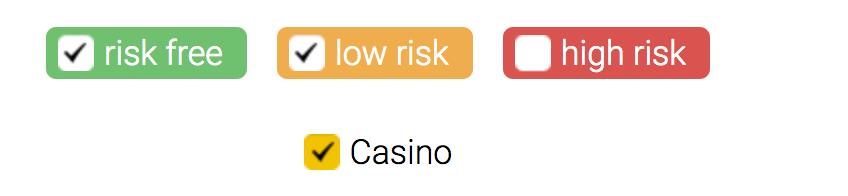 Low risk casino