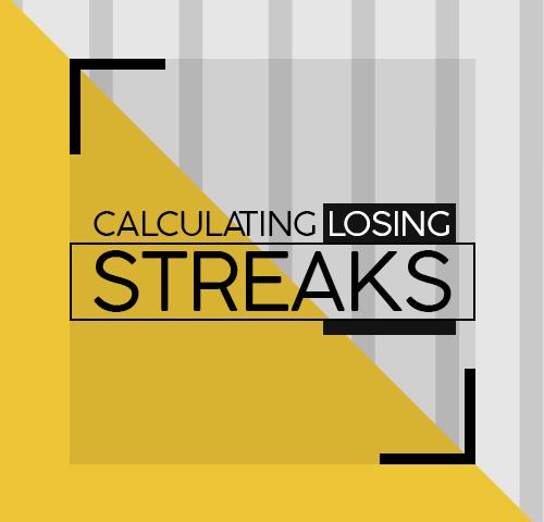 Calculating losing streaks
